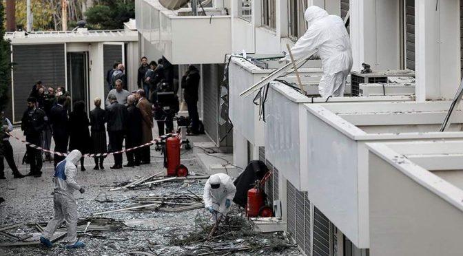 Ateny, Grecja: Rewolucyjna akcja przeciwko prawicowej telewizji SKAI