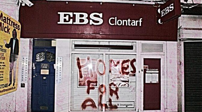 Dublin, Irlandia: Sabotaż banków i bankomatów