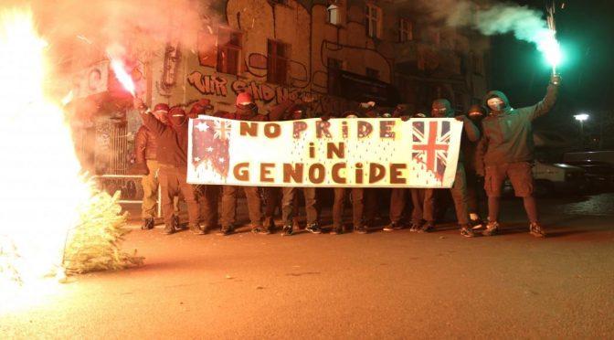 """Berlin, Niemcy: Solidarność z pierwszymi narodami tzw. """"Australii"""""""