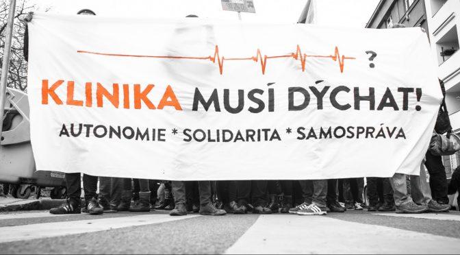 Praga: Czechy: Wezwanie! Musimy obronić skłot Klinika! Kilka dni do ewikcji!