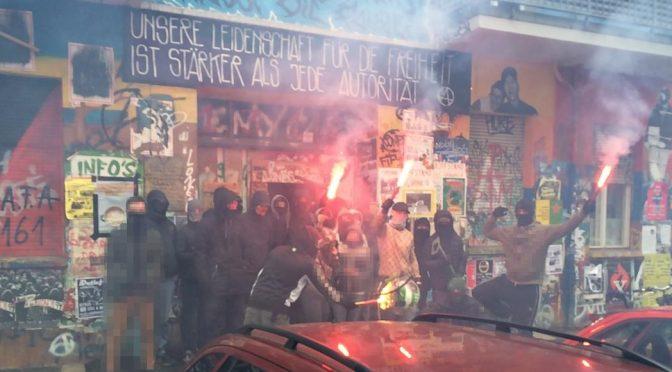 Berlin, Niemcy: Towarzysz Nero na wolności!