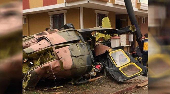 Stambuł, Turcja: Drużyny Zemsty biorą odpowiedzialność za zestrzelenie helikoptera