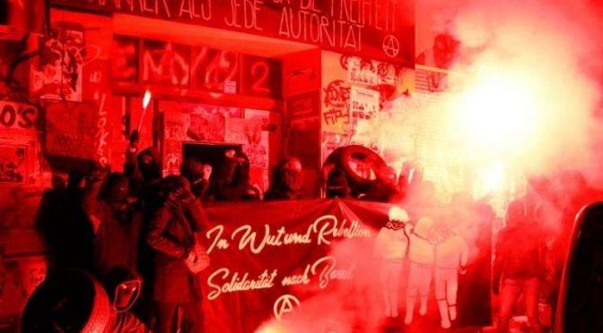 Bazylea, Szwajcaria: 15 anarchistek_ów skazanych