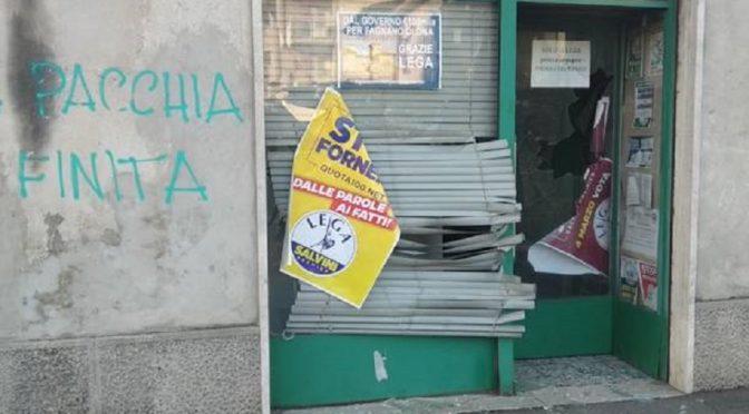 Varese, Włochy: Atak na biuro Ligi Północnej