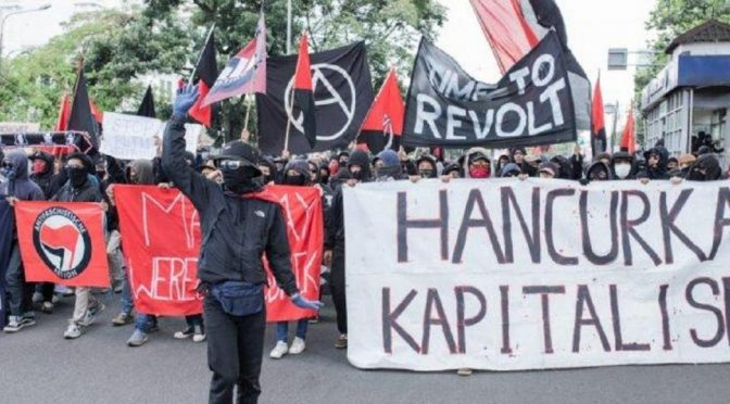 Indonezja: Zamieszki podczas 1 maja, represje i solidarność (wideo)