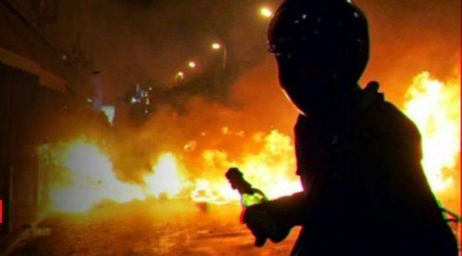 Ateny, Grecja: Seria podpaleń w solidarności z Dimitrisem Kofontinasem
