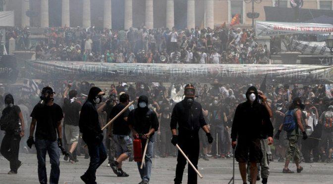USA, Nieznany autor: Rewolucyjny anarchizm przeciw demokracji państwowej