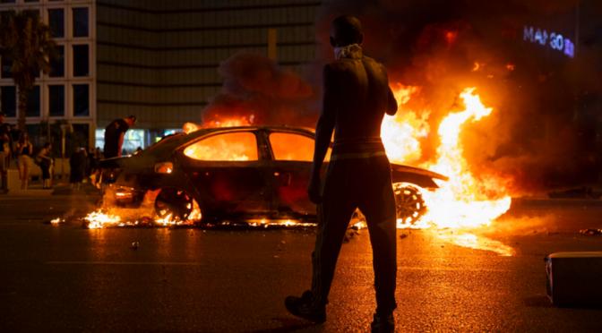 terytorium okupowane przez Izrael: Protesty i zamieszki po policyjnym morderstwie nieuzbrojonego etiopskiego nastolatka