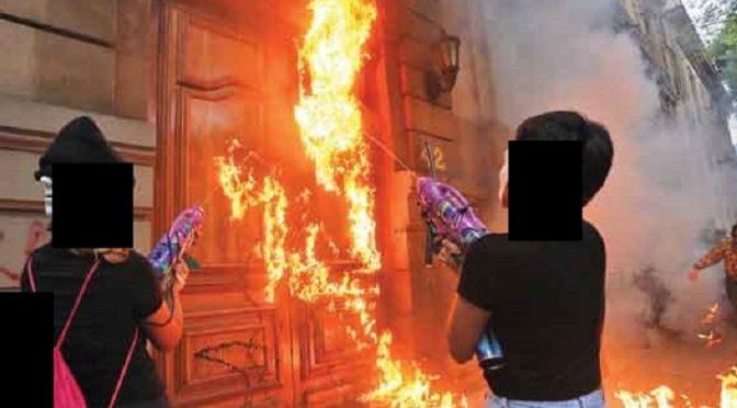 Meksyk: Wezwanie do działania od Nieformalnych Anarchistek Permanentnego Konfliktu
