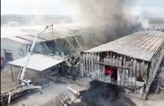 Turcja, prowincja Konya: Inicjatywa Dzieci Ognia spaliła farbykę należącą do inwestora AKP