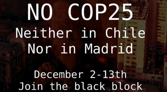 Madryt, Hiszpania: [Antyszczyt COP25] Wszystkie wystrzelone pociski zostaną zwrócone