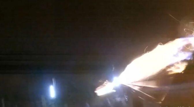 Kijów, Ukraina: Anarchiści atakują komisariat policji by uczcić pamięć Michaiła Złobickiego (wideo)