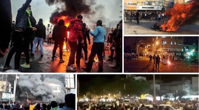 Iran: Powtarzające się powstanie