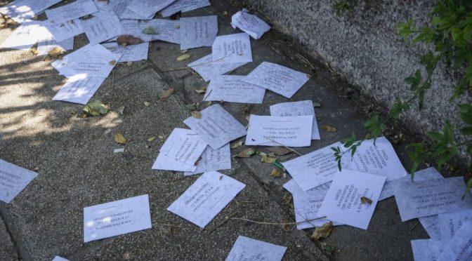 Ateny, Grecja: Akcja grupy Rubikon przed domem ambasadora Australii Artura Spyrou