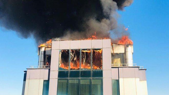Antalya, Turcja: HBDH Zniszczyło Centrum Biznesowe, Członka Tureckiego Związku Piłki Nożnej Mającego Powiązania z AKP