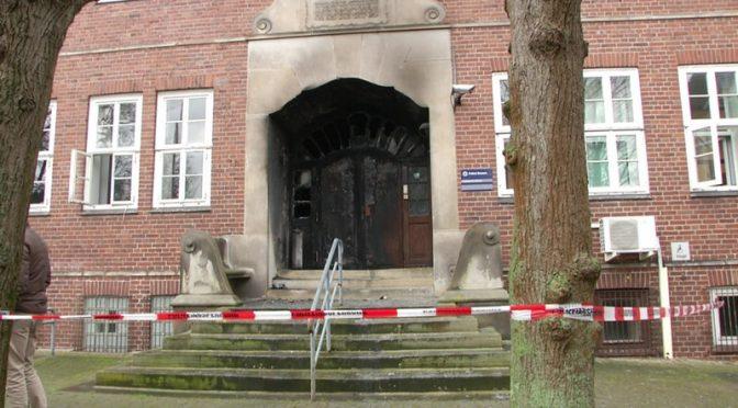 Brema, Niemcy: Komenda policji zaatakowana w solidarności z Linksunten Indymedia