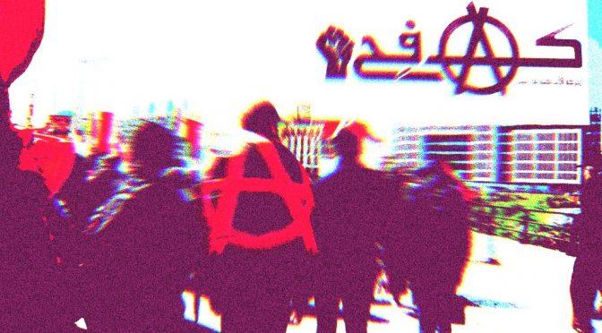 Liban: Anarchistyczny ruch KAFEH (Walka) wydaje oświadczenie o trwających protestach