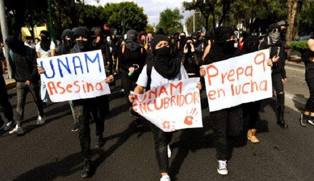 Meksyk, Meksyk: Opór przeciwko przemocy seksualnej na Kampusie UNAM