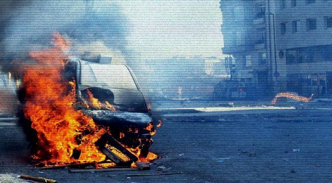 Montevideo, Urugwaj: Podpalenie samochodu firmy ochroniarskiej G4S