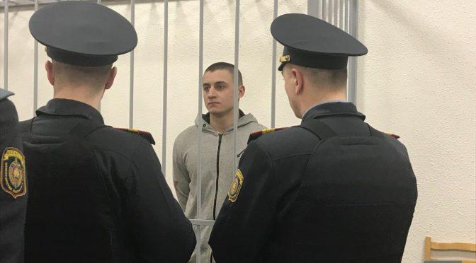 Białoruś, Mińsk: Anarchista Mikita Yemelyanau skazany na 7 lat więzienia
