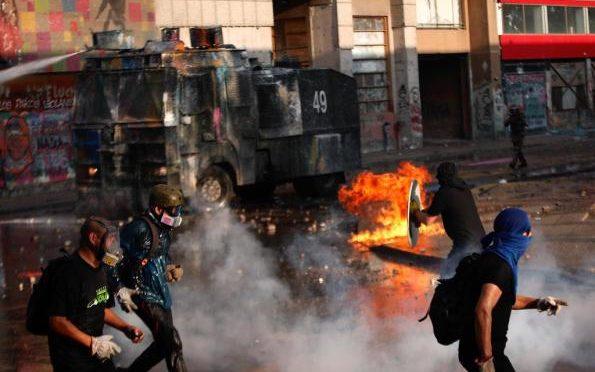 Santiago, Chile: List od anarchisty uwięzionego za udział w powstaniu społecznym