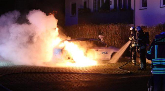 Niemcy, Lipsk: Podpalenie przeciwko spekulantom więzienia