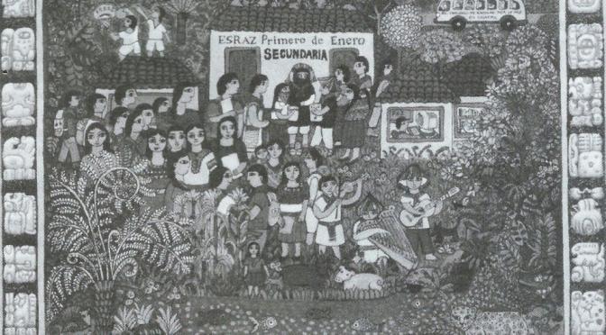 Autochtoniczna edukacja autonomiczna w Chiapas.