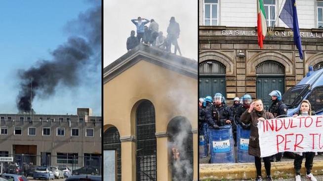 Włochy: Zamieszki w 27 więzieniach- Ośmiu martwych osadzonych