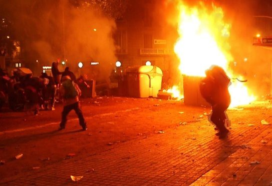 Madryt, Hiszpania: Wskrześmy strajki, rozpowszechnijmy okupacje oraz niech się zacznie plądrowanie