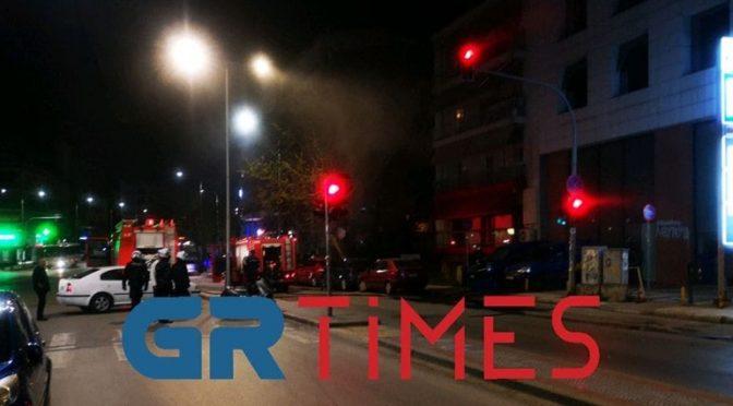 Saloniki, Grecja: Akcje podpaleniowe w czasie kwarantanny