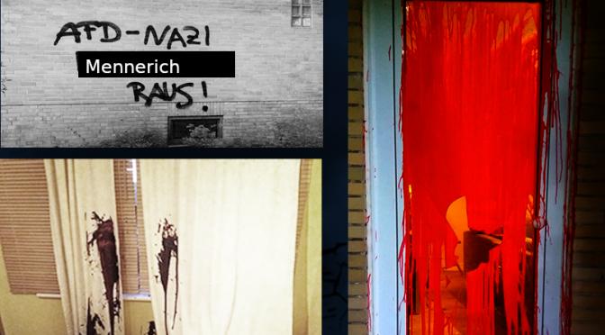 Niemcy: Ataki na domy faszystów z AfD w Hamburgu i Berlinie