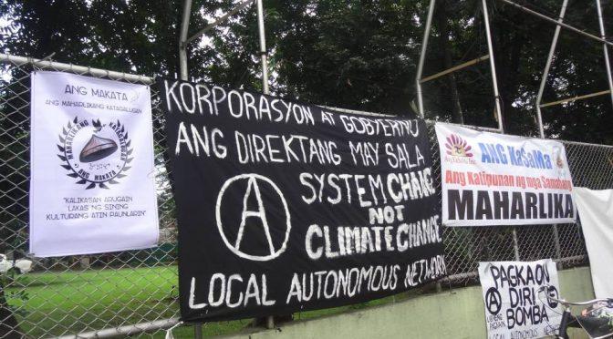 Filipiny: oświadczenie Lokalnej Sieci Autonomicznej w sprawie domniemanych prześladowań anarchistów na terenie Filipin