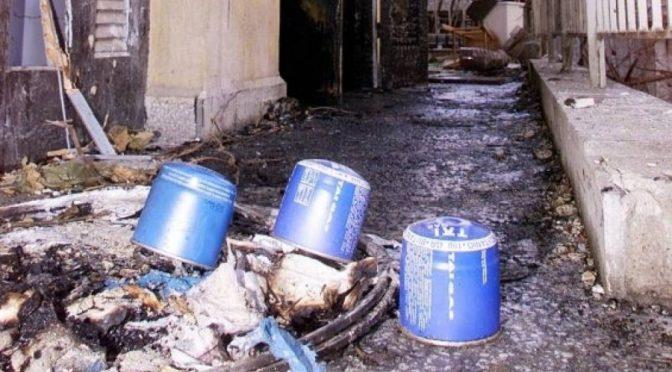 Saloniki, Grecja: Atak przy pomocy ładunku wybuchowego przeciwko ManpowerGroup w solidarności z powstaniem w USA