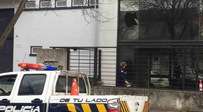 Montevideo, Urugwaj: Atak na siedzibę konsorcjum budowlanego Ferrocarril Central