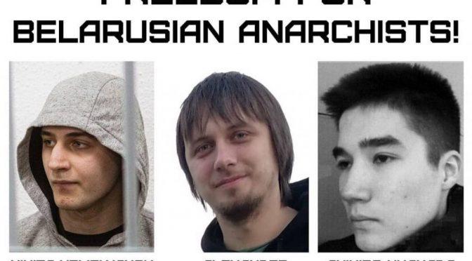 Represja wobec anarchistów na Białorusi – wezwanie o międzynarodową solidarność