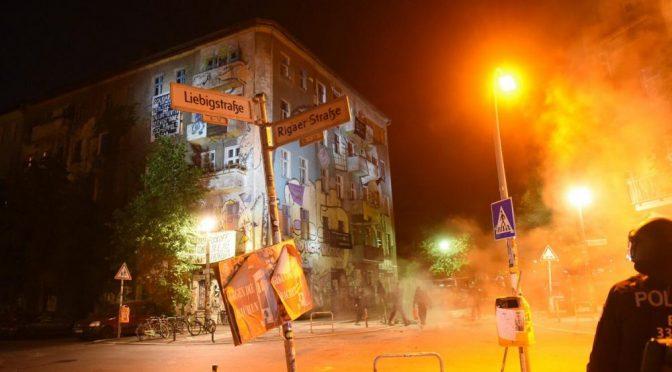 Berlin, Niemcy: Tydzień akcji dla Liebig34 (07.09 – 13.09.2020)