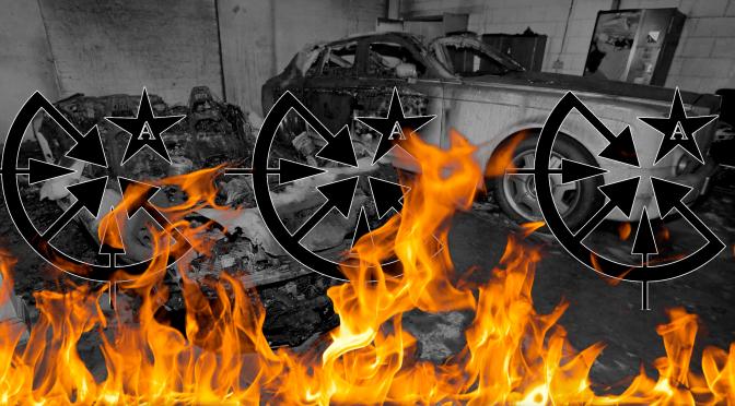 """Yogyakarta, Indonezja: Komunikat odpowiedzialności w sprawie zniszczenia luksusowych samochodów przez komórkę """"Przedmiejskie Komórki Ognia/FAI"""""""