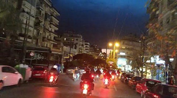 Ateny: Anarchistyczny rajd motocyklowy w solidarności z więźniem politycznym Dimitrisem Koufontinasem (Wideo)