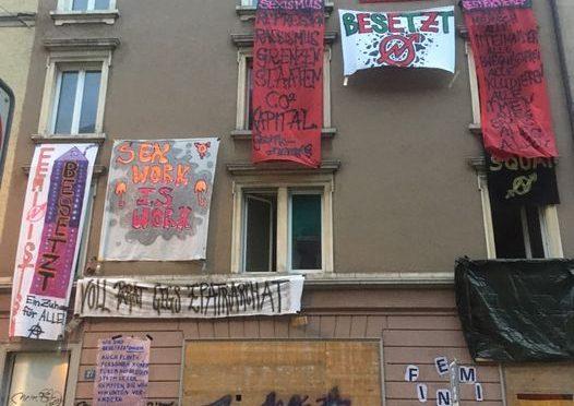 Zurych, Szwajcaria: Otwarto samoorganizujący się feministyczny skłot!