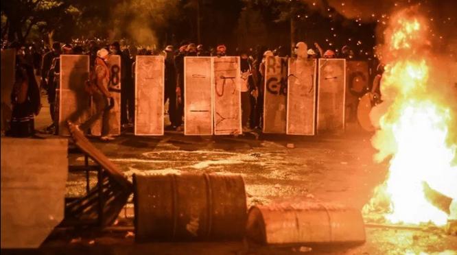 Kolumbia: Dwanaście dni oporu w Kolumbii