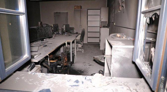 Drezno, Niemcy: Podłożenie ognia w biurze firmy zakontraktowanej na budowę więzienia